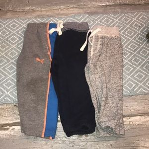 Toddler Boy Sweats Lot 18-24MO